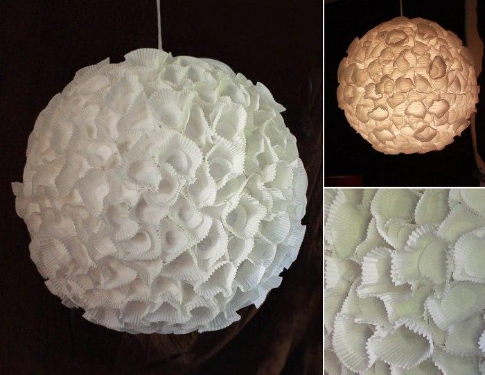 Luminária japonesa customizada com forminhas de cupcake – Alô terra b9290c16e60